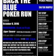 Back the Blue Poker Run