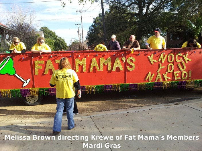 KREWE OF FAT MAMA'S MARDI GRAS PARADES