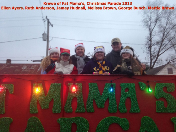 KREWE OF FAT MAMA'S CHRISTMAS PARADES