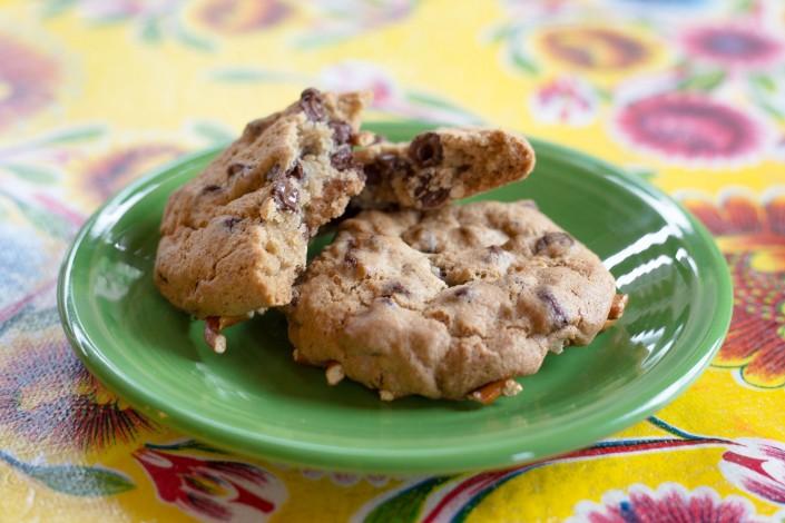 Chocolate Chip & Pretzel Cookies