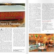 Fat Mama's Restaurant featured in Bluffs and Bayous Magazine