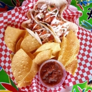 Fish Tacos at Fat Mama's Restaurant in Natchez, MS