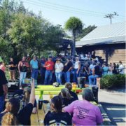 gathering of people at Natchez Poker Run | Fat Mama's Tamales order online Natchez, MS