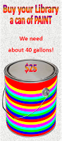 graphic for buy a can of paint for the library | Fat Mama's Tamales order online Natchez, MS
