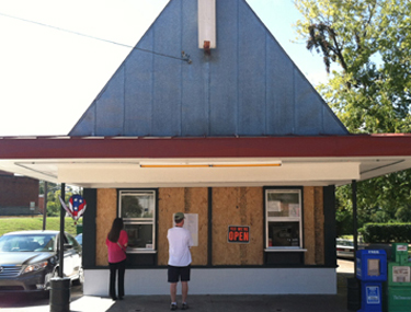 Malt shop facade | Fat Mama's Tamales order online Natchez, MS