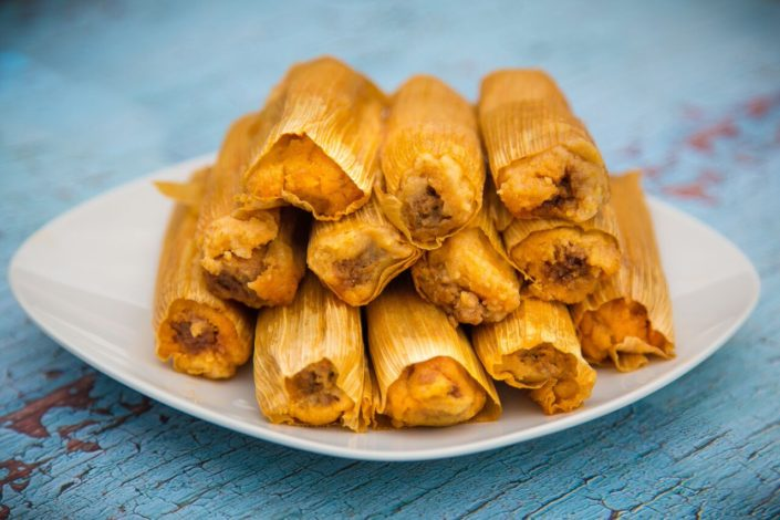 tamales on a plate | Order Best Tamales Online | Fat Mama's Tamales | Natchez, MS